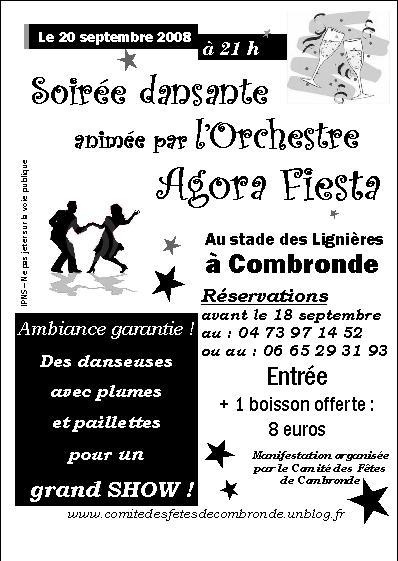 Agora Fiesta pour un grand show variété à Combronde !