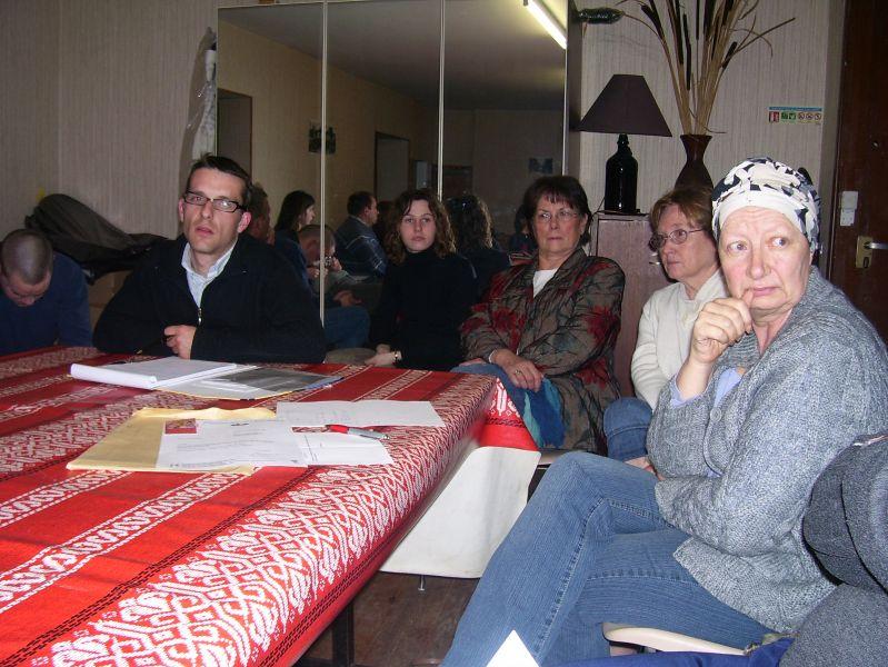 Cédric, Julien, Maryline, Bernadette, Yolande et Brigitte