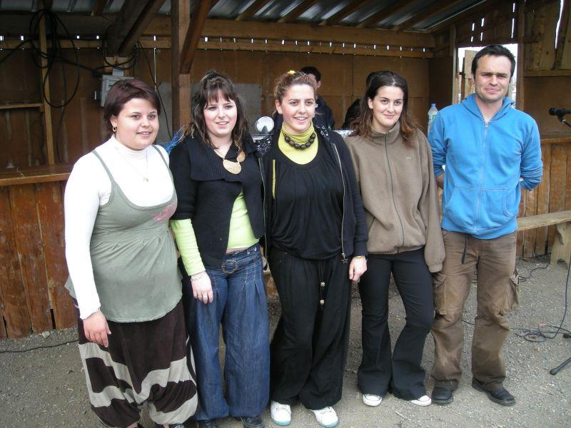 L'équipe organisatrice du Lycée de St-Flour (15)